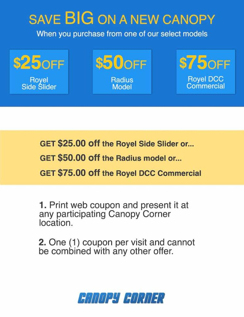 canopy corner coupon